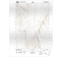 USGS Topo Map Oregon Battle Creek Ranch 20110824 TM Poster