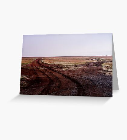 Two Roads Two Roos and too Far Greeting Card