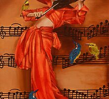 Le Violon by Nicole Marbaise