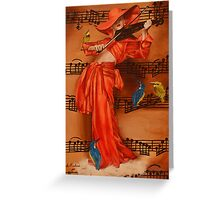 Le Violon Greeting Card