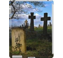 Spring time in the church yard iPad Case/Skin