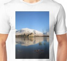 Kilchurn Castle in Winter Unisex T-Shirt