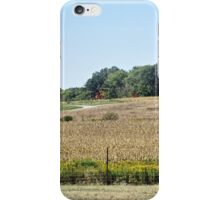 Checking the Crops iPhone Case/Skin