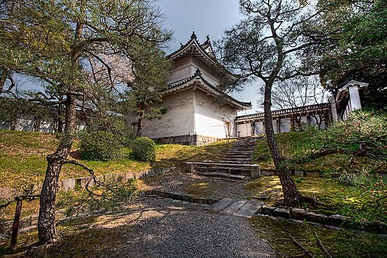 Nijō Castle • Kyoto • Japan by William Bullimore