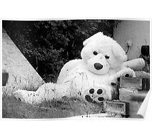 Melancholy Bear Poster