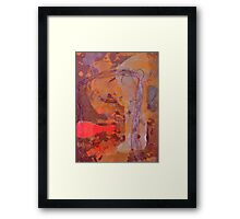 Abstract Outback Framed Print