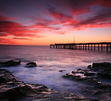 Sunrise at Lorne Pier by Cameron B