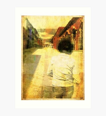 Streets of Dirt 2 Art Print