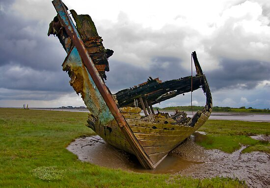 Left to Rot - Fleetwood Wrecks by Trevor Kersley