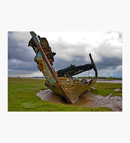 Left to Rot - Fleetwood Wrecks Photographic Print
