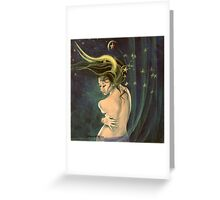 """Taurus"" - ...from ""Zodiac signs"" series Greeting Card"
