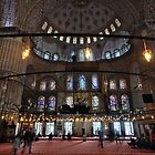 The Blue Mosque by Peter Hammer