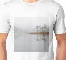 Loch Ard Misty Morning in Autumn Unisex T-Shirt