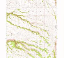 USGS Topo Map Oregon Mc Coy Ridge 280678 1968 24000 by wetdryvac