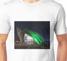 Glasgow Clyde Auditorium at Night Unisex T-Shirt