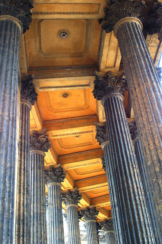 Row of pillars by Eduard Isakov