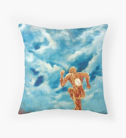 nine to five Throw Pillow