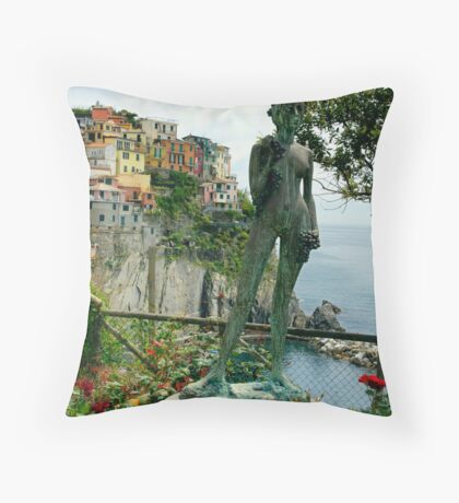Vernazza Beauty Throw Pillow