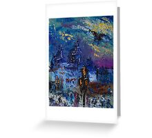 Lovers in Venice-Italy Greeting Card