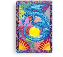 kate's dragon Canvas Print