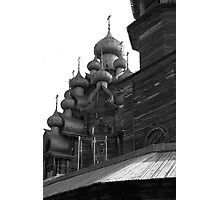 Orthodox wooden church Photographic Print