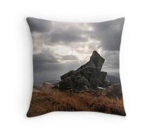 The Stiperstones - Shrophshire Throw Pillow