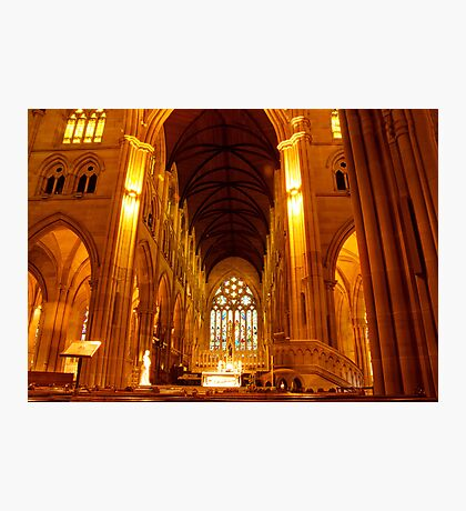St Mary's Cathedral Interior Photographic Print