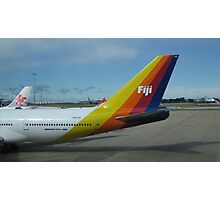Colourful Fiji Airliner. Photographic Print