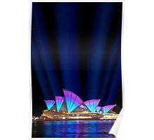 Sydney Vivid Lightshow Poster