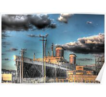 USS United States Poster