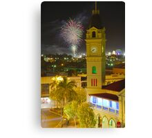 Bundaberg Post Office Clock Tower Canvas Print