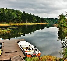 A Peaceful Mooring by Astrid Ewing Photography