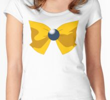 SAILOR URANUS BOW Women's Fitted Scoop T-Shirt