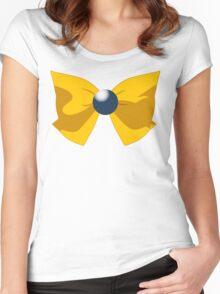 SAILOR URANUS BOW Women's Fitted Scoop T-Shirt