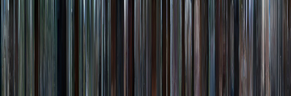 Moviebarcode: Brokeback Mountain (2005) by moviebarcode