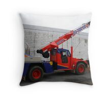 Real Men drive Cranes Throw Pillow