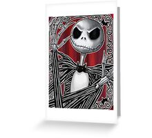 Jack Skellington Greeting Card