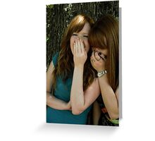 Girls Will Be Girls Greeting Card