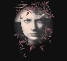 Forty Seventh Fall with Crimson Leaves Bodywear Womens Fitted T-Shirt