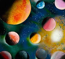 Outer Space #3 by Anastasia Ice by AnastasiaIce
