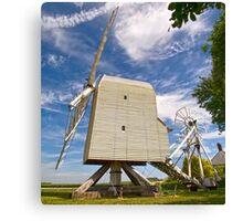 Great Chishill Windmill Canvas Print