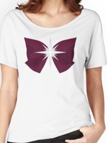 Sailor Saturn Bow Women's Relaxed Fit T-Shirt