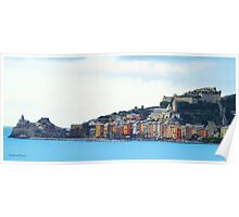 A View of Porto Venere Poster