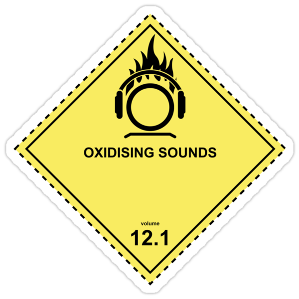 WARNING! Oxidizing Sounds by destinysagent