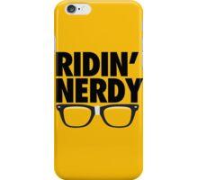 RIDIN' NERDY iPhone Case/Skin