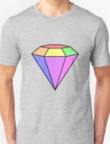 Humour - Pastel Rainbow Diamond T-Shirt