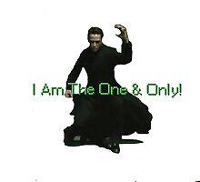 Neo Is The One & Only by Krispullen25