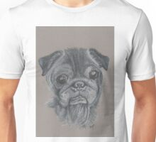 Teddy the pug. Unisex T-Shirt