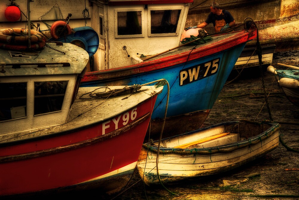 Fishing Boats by ajgosling