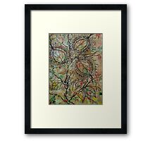 Butternuts.. white walnut... Framed Print
